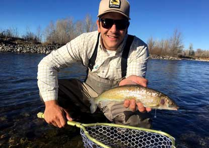 Fishwest Staff Member Donato Crespo Fly Fishing
