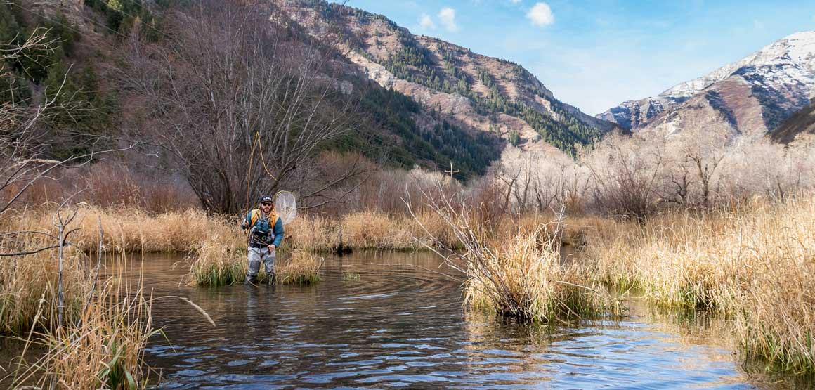 Richard Lake Fly Fishing in Utah with Fishwest