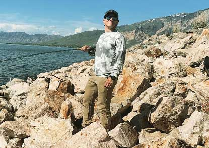 Fishwest Ambassador Nate Brown