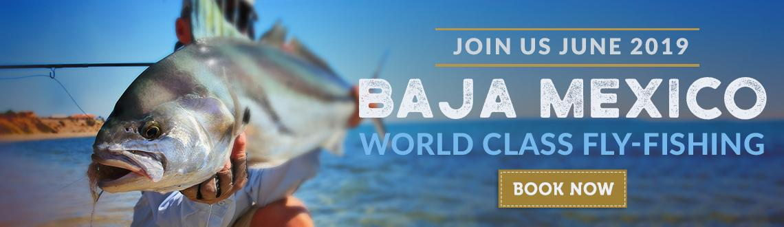 Join Fishwest, June 2019 for our Baja, Mexico World Class Fly Fishing Trip. Book Now.