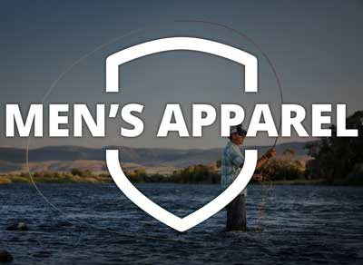 Men's Apparel on fishwest.com