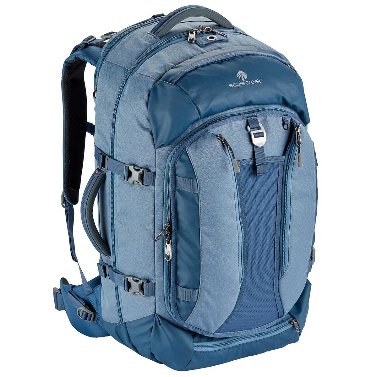 Eagle Creek Global Companion 65L Backpack in Smokey Blue