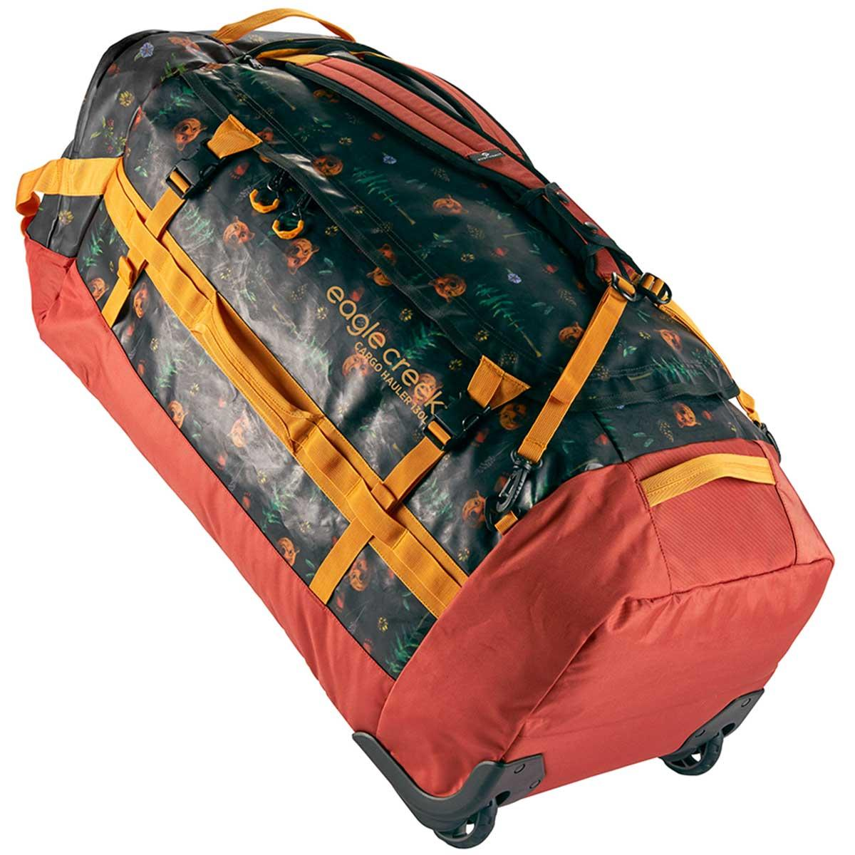 Eagle Creek Cargo Hauler Wheeled Duffel 130L in Golden State Print