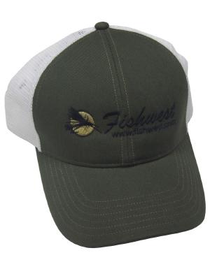 72c7da24dc0 Fishwest Simms Logo CBP Trucker Cap