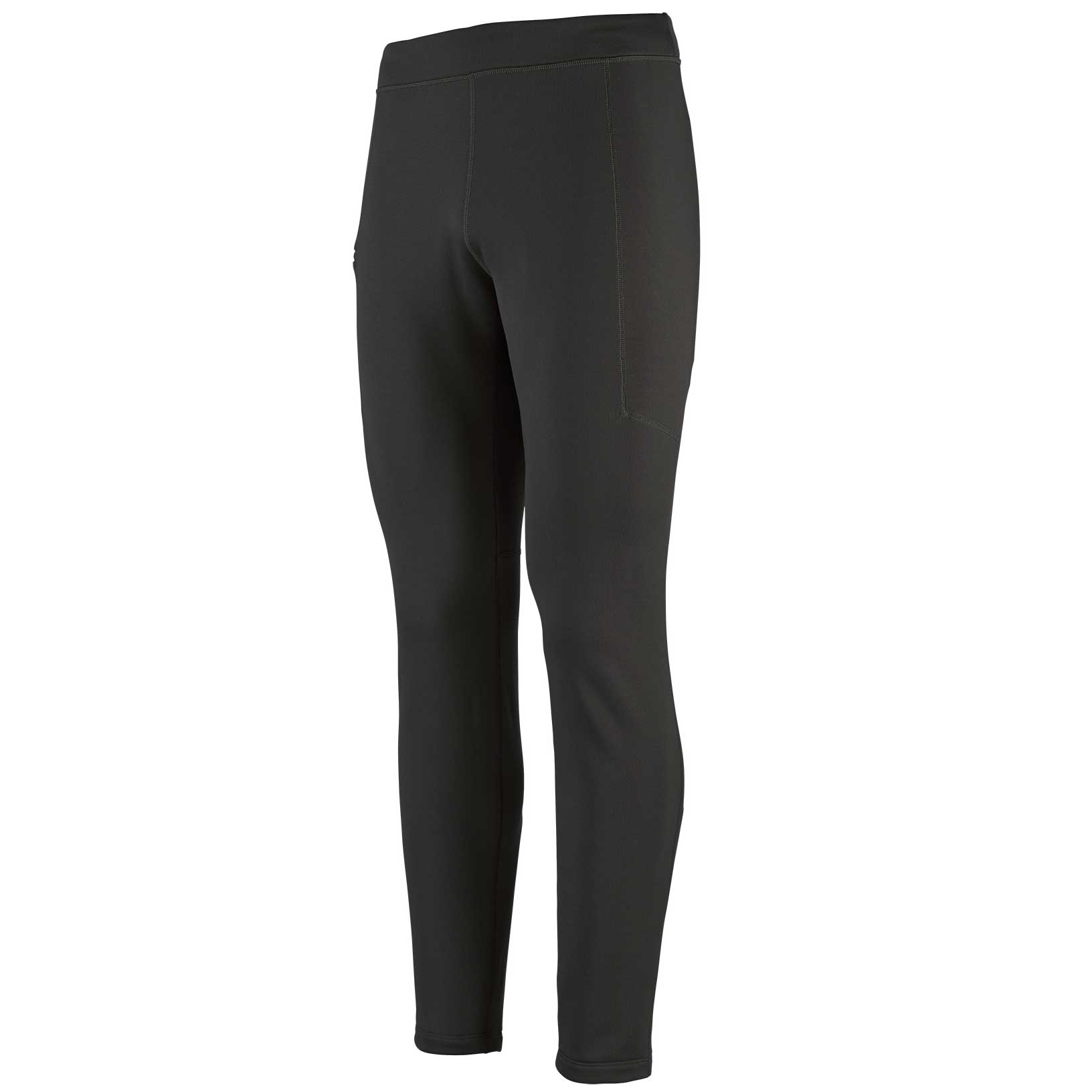 Patagonia men's Crosstrek Bottoms in Black front view