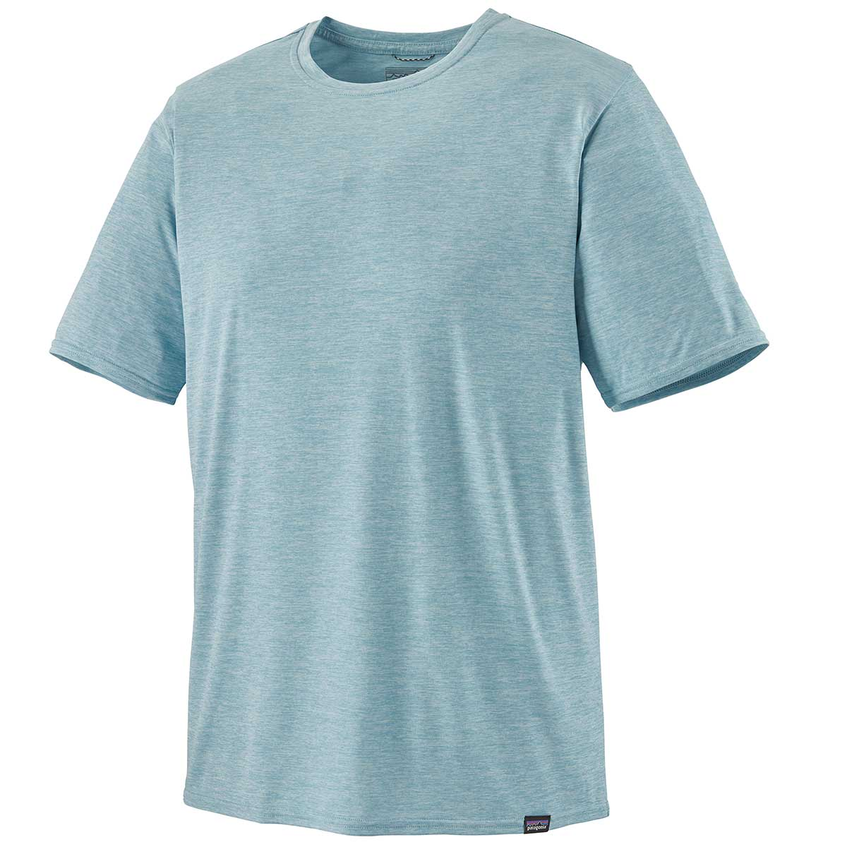 Patagonia men's Capilene Cool Daily Shirt in Big Sky Blue front view