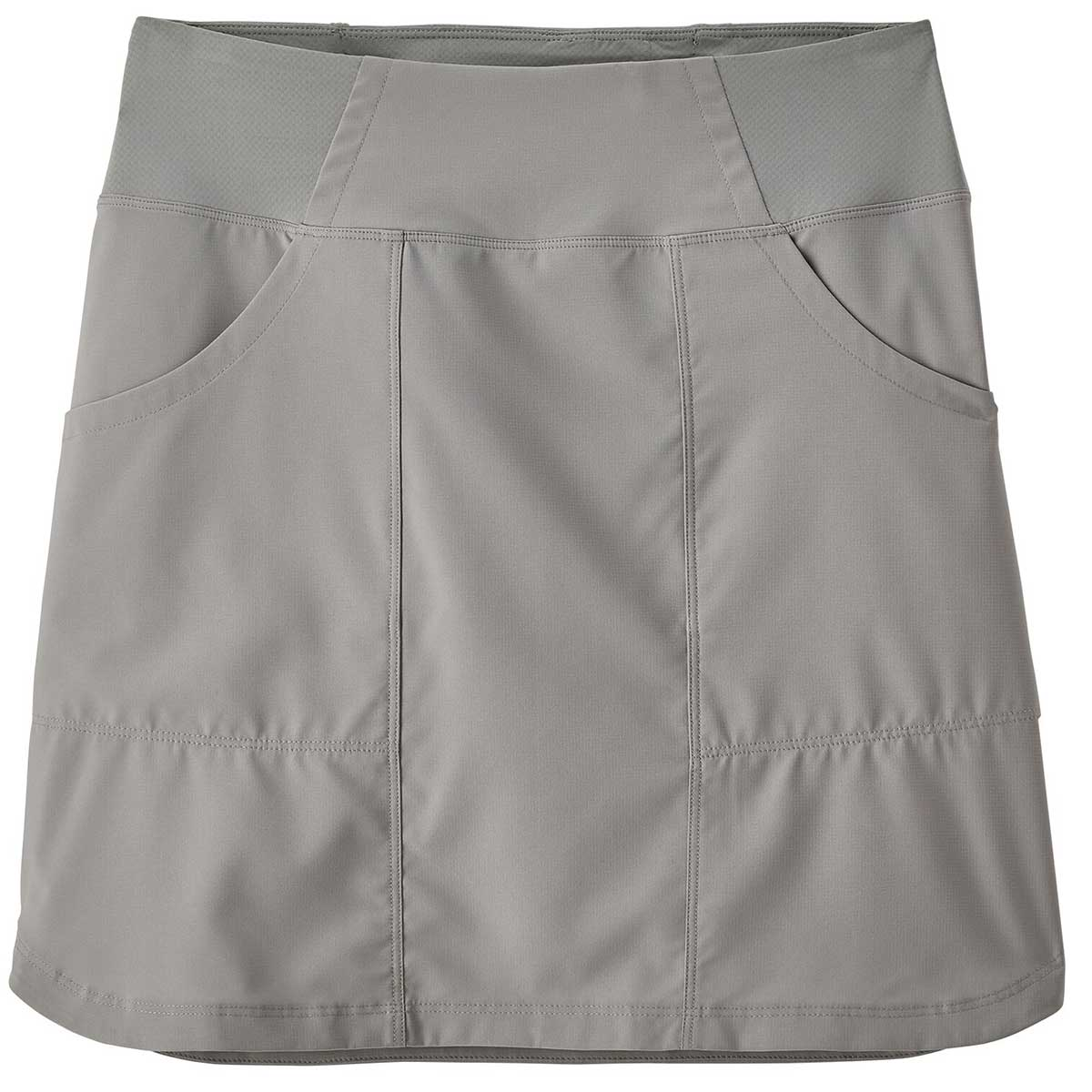 Patagonia women's Tech Skort in Drifter Grey front view