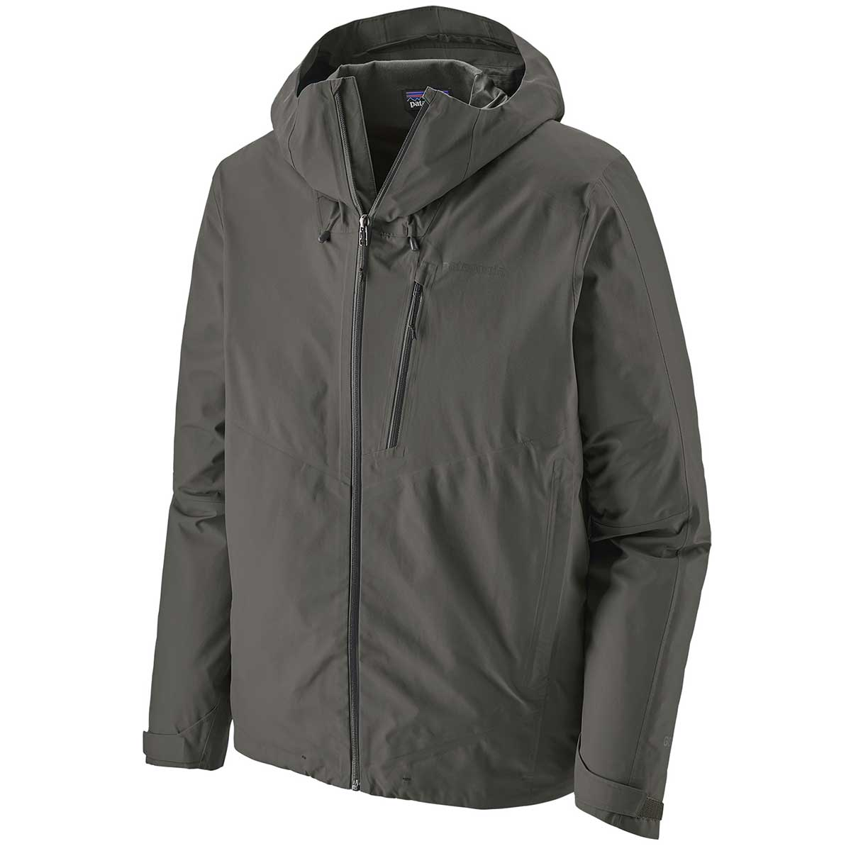 Patagonia men's Calcite Jacket in Forge Grey main view