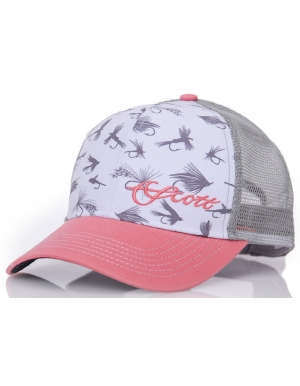 af86cfe6c32 Scott Fly Rod Foam Front Mesh Hat w  Flies on Front - Women s