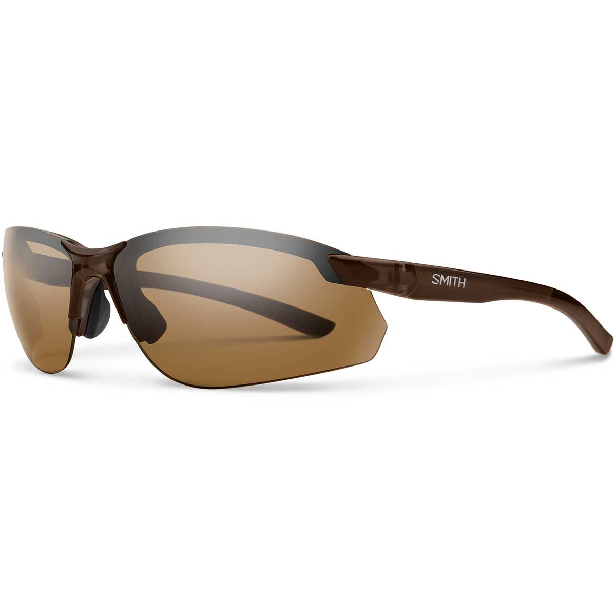 Smith Parallel Max2 Sunglasses Polarized in Brown with Brown main view